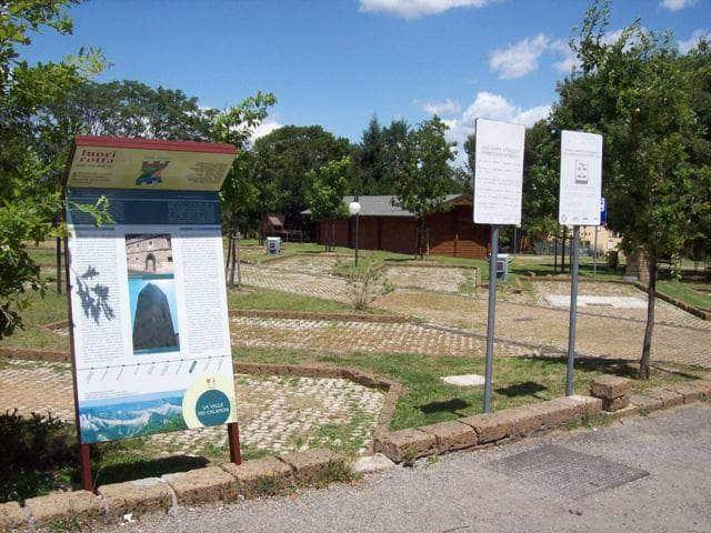 Area Attrezzata Camper Parco Paime di Lubriano (VT)