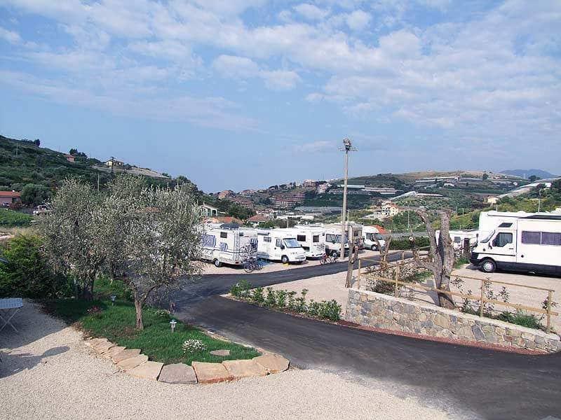 Area Camper Village di Santo Stefano al Mare (IM)