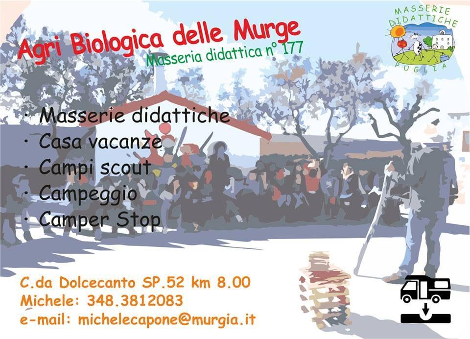 Agri Biologica delle Murge di Gravina in Puglia (BA)