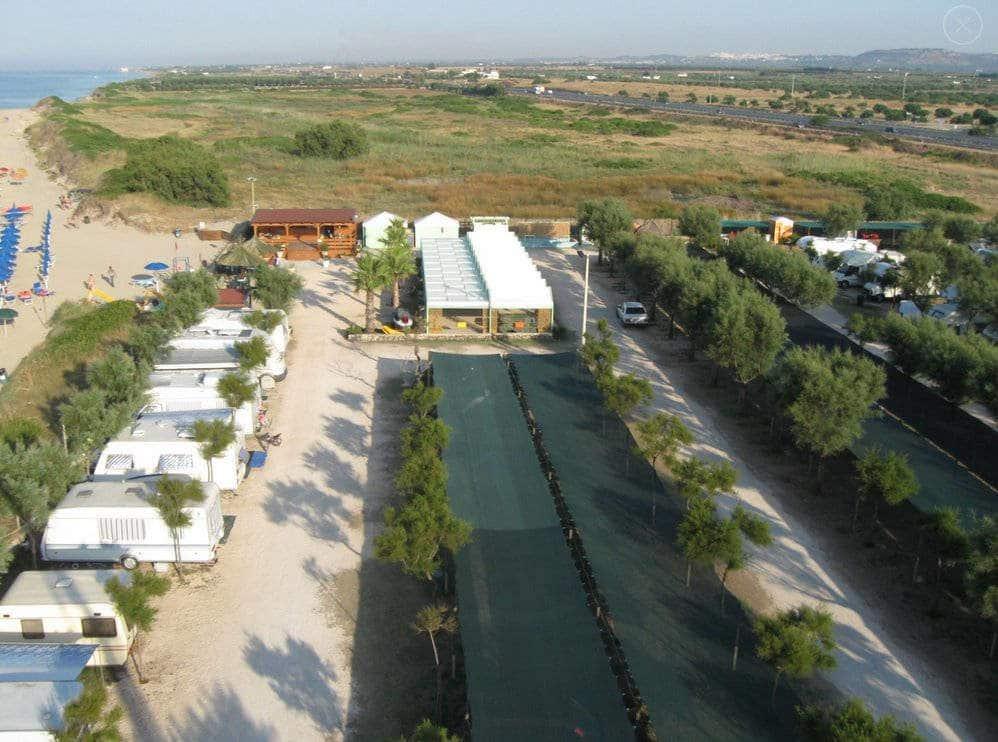 Area Attrezzata Camper Lido Tavernese di Fasano (BR)