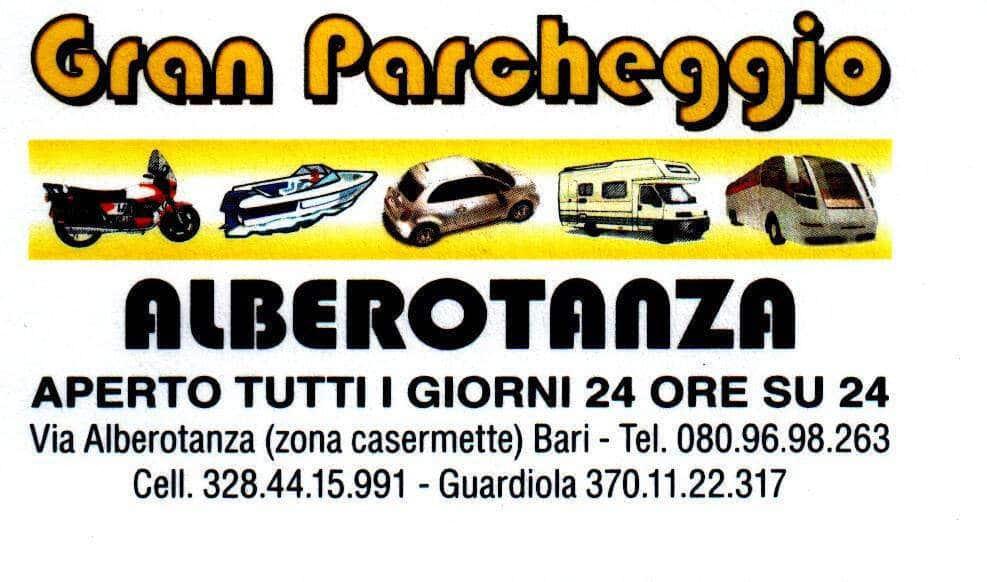 Area Camper Gran Parcheggio Alberotanza di Bari (BA)