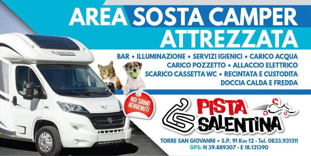 Area Sosta Camper Pista Salentina di Ugento (LE)
