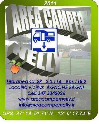 Area Attrezzata Camper Nelly di Augusta (SR)