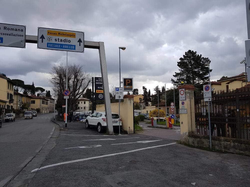 Area Camper Parcheggio Gelsomino di Firenze (FI)