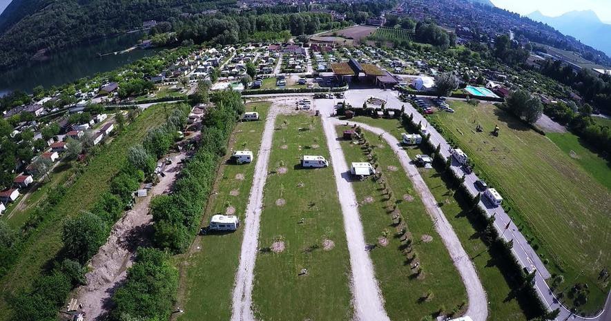 Area Sosta Camper Camping Lago Levico di Levico (TN)