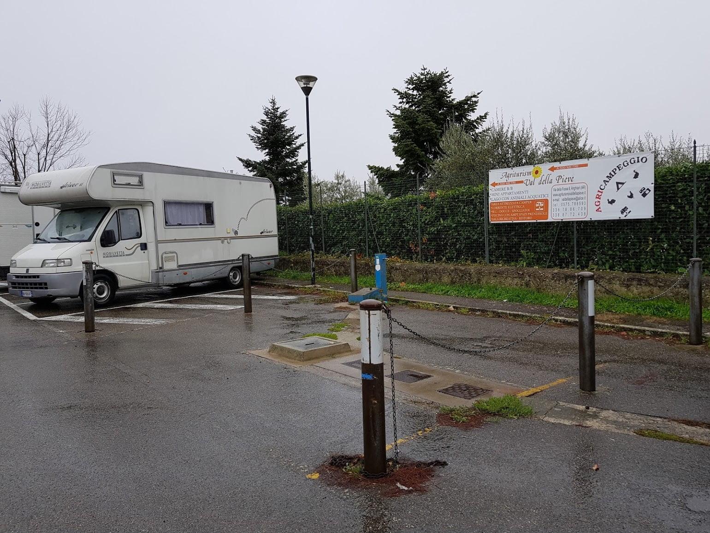 Area sosta camper anghiari ar giro per campeggi - Sosta camper bagno di romagna ...
