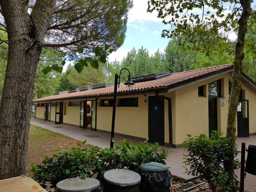 Camping Village Badiaccia di Castiglione del Lago (PG) - Bagni