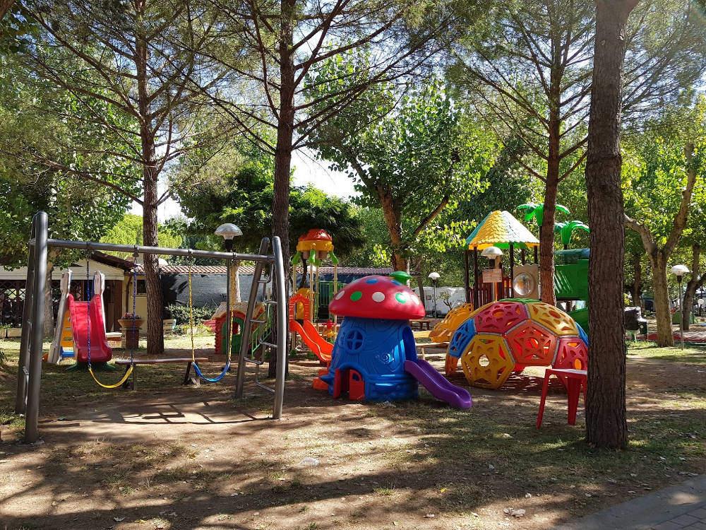 Camping Village Badiaccia di Castiglione del Lago (PG) - Parco giochi