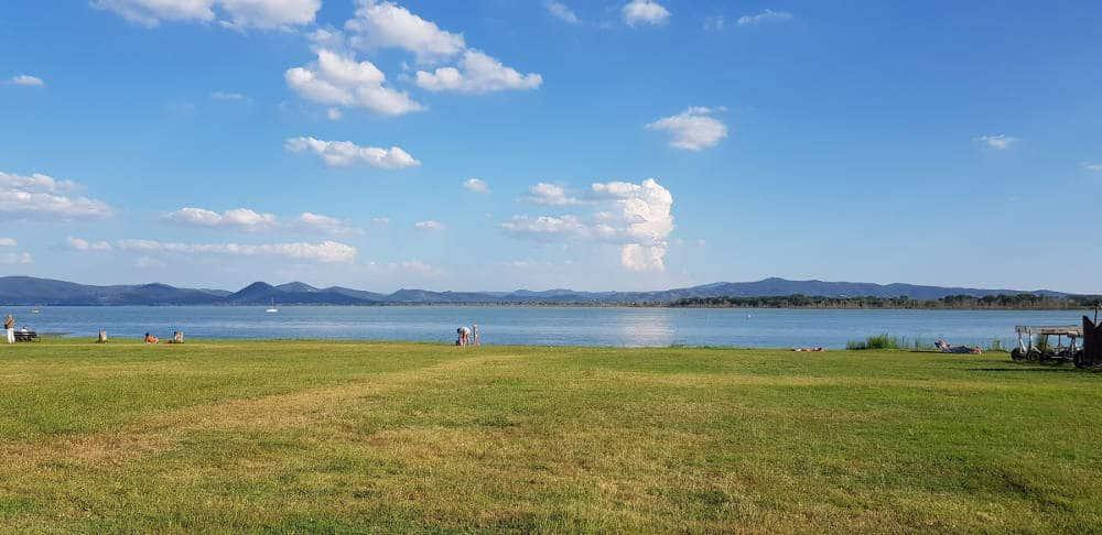 Camper Parking Castiglione del Lago (PG) - Lago