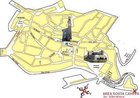 Area Sosta Camper Torrenieri di Montalcino (SI)