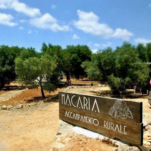 Accampamento Rurale Macaria di Alliste (LE)