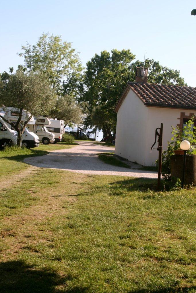 Area Attrezzata Camper Guadetto di Bolsena (VT)