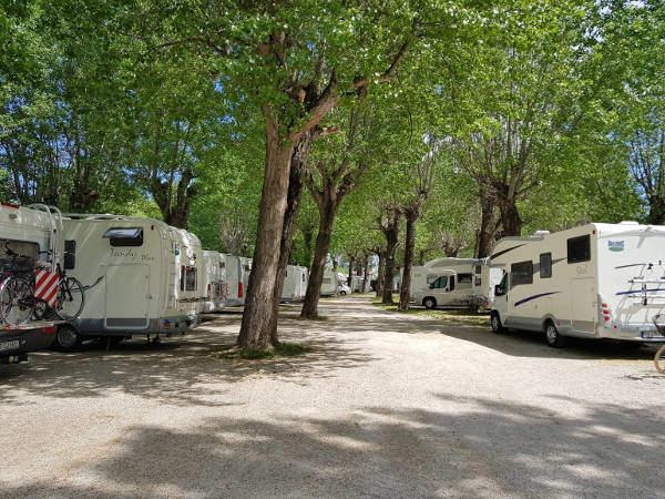 Area Camper Lugana Marina di Sirmione (BS) - Veduta