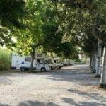 Parcheggio a Senigallia per il Jamboree