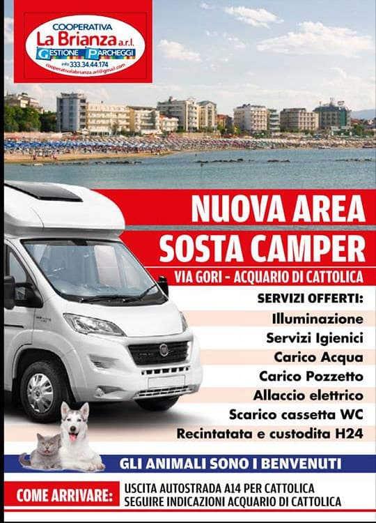 Area Sosta Camper Cattolica (RN)