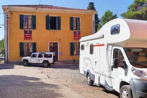 Area Camper Miniera Montevecchio di Guspini (VS)