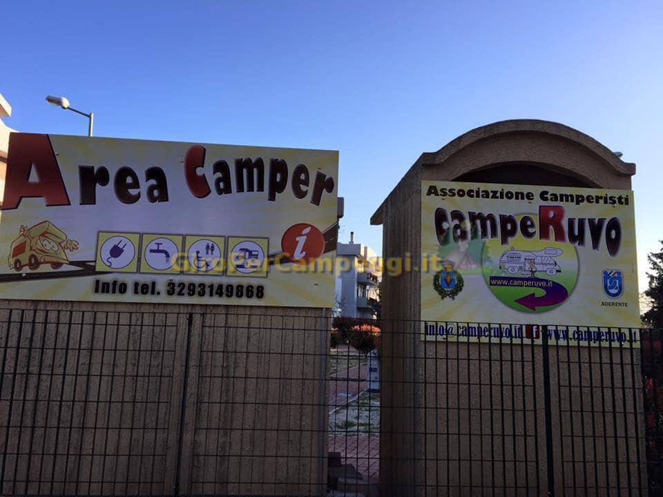Area Sosta Camper di Via Minghetti Ruvo di Puglia (BA)
