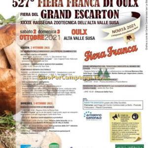 Fiera Franca e del Grand Escarton di Oulx (TO)