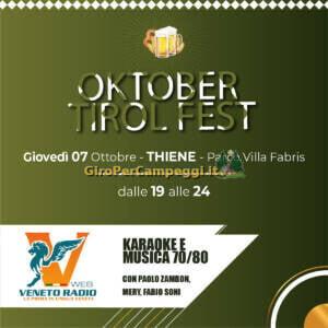Oktober Tirol Fest a Thiene (VI)