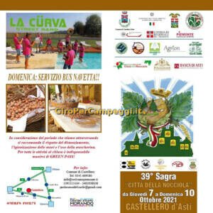 Sagra Città della Nocciola a Castellero (AT) 2021