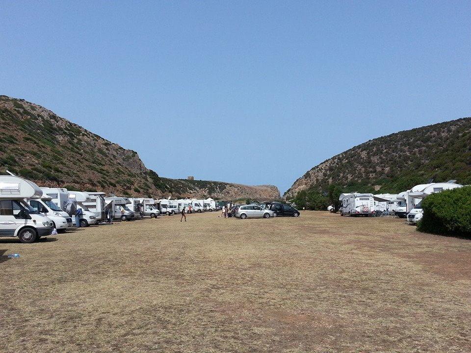 Area Camper Cala Domestica di Buggerru (CI)