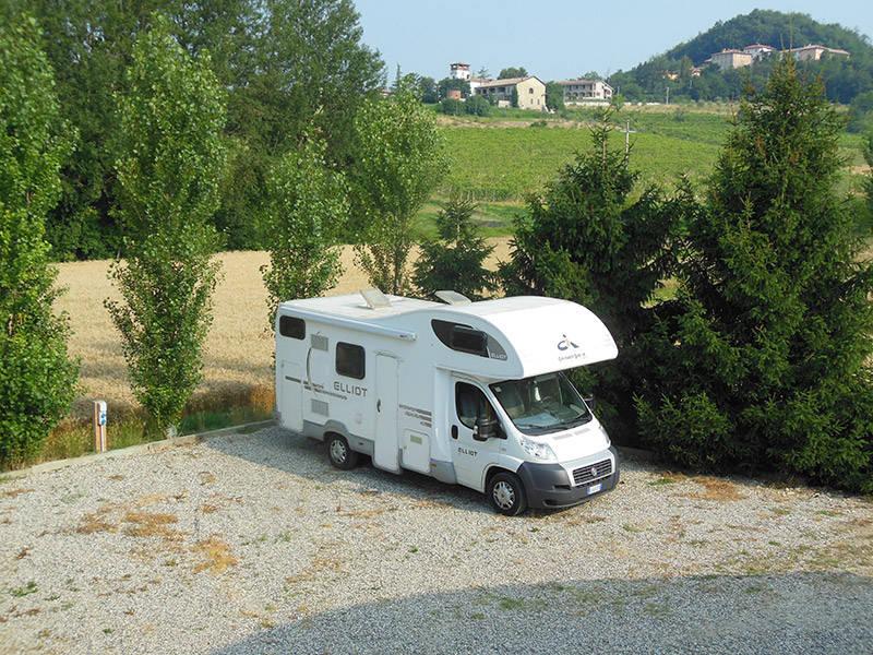 Area Camper Azienda Agricola Olivetta di Castelletto Merli (AL)