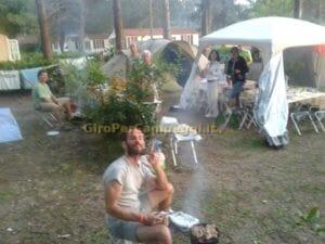 Campeggio Italgest - Io alla griglia - Copyright Pamela