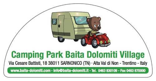 Camping Park Baita Dolomiti di Sarnonico (TN)
