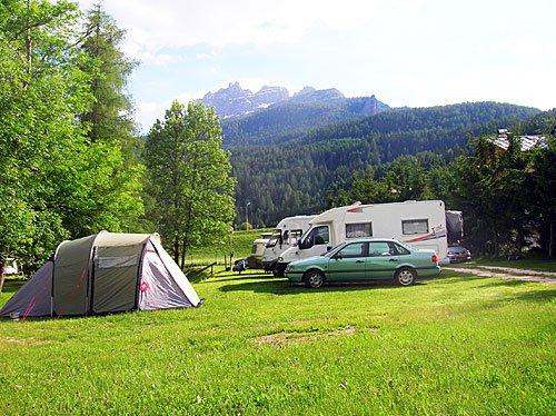 Camping Rocchetta di Cortina D'Ampezzo (BL)