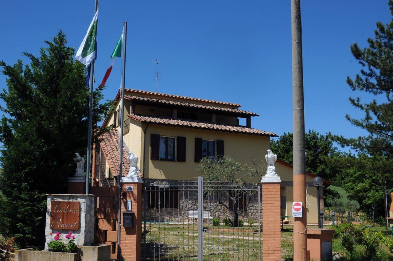 Area Camper Resort Umbria SPA di Fabro (TR)